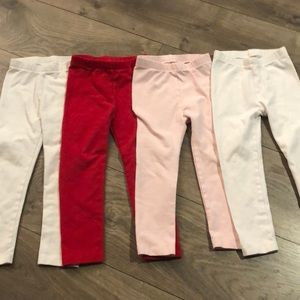 Set of 4 Children's Place leggings